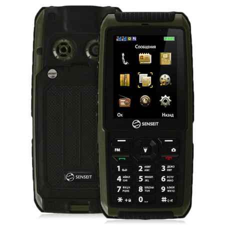 Купить Мобильный телефон SENSEIT P101 Green
