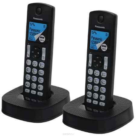 Купить Panasonic KX-TGC322RU1, Black DECT телефон