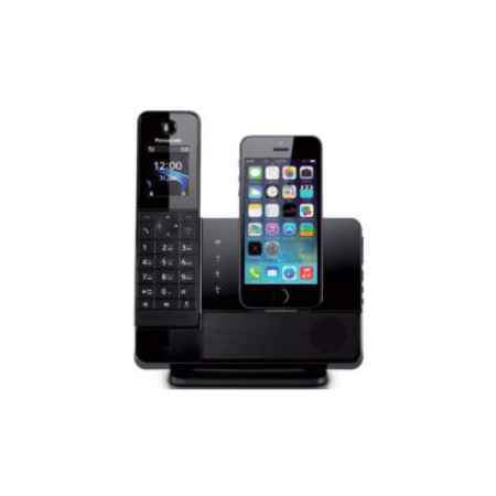 Купить Радиотелефон DECT Panasonic KX-PRL260RUB с док-станцией для Apple iPhone черный