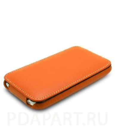 Купить Чехол HTC One V - Melkco Jacka Type оранжевый