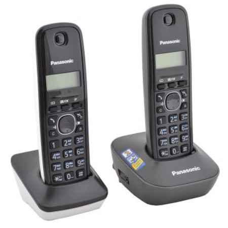 Купить Радиотелефон DECT Panasonic KX-TG1612RU1 черный