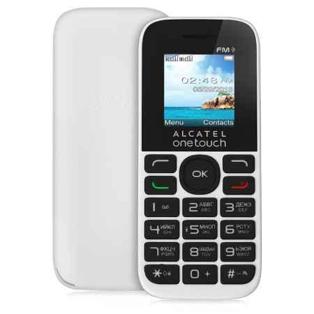 Купить Мобильный телефон Alcatel OT1013D (2SIM) White