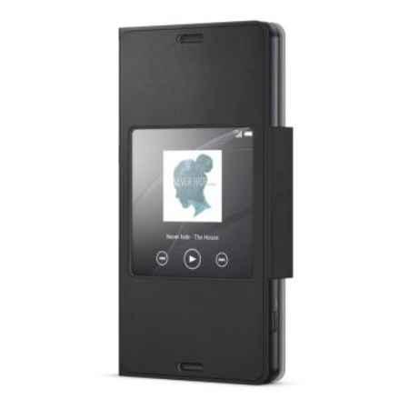 Купить Чехол-подставка SONY SCR26 Style-Up для Xperia Z3 compact с окошком черный