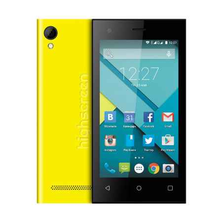 Купить Смартфон HIGHSCREEN Pure F Yellow