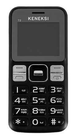 Купить Мобильный телефон Keneksi T2 Black