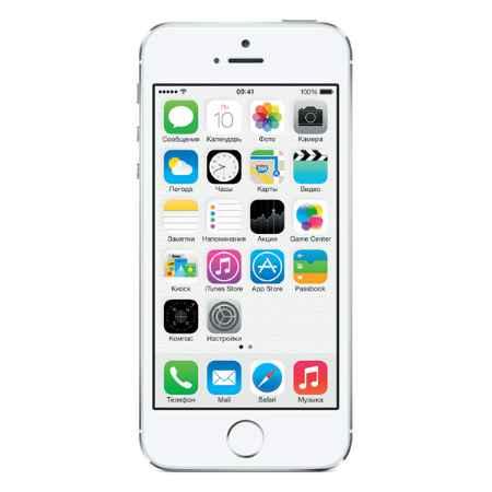 Купить Apple iPhone 5S 32Gb Silver (ME436RU/A)