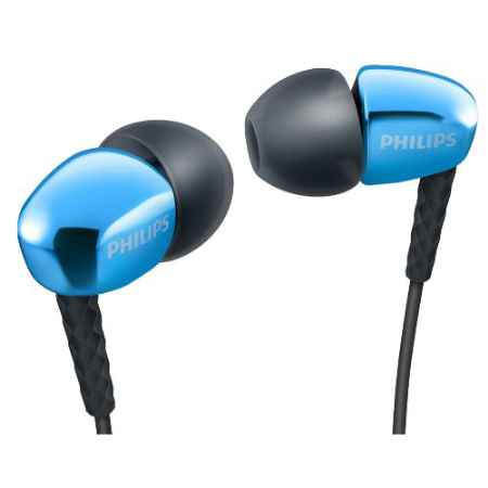 Купить Philips SHE3900BL/51 Blue