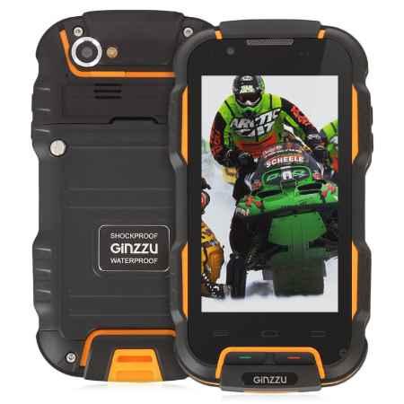 Купить Смартфон GiNZZU RS9 DUAL, черный/оранжевый