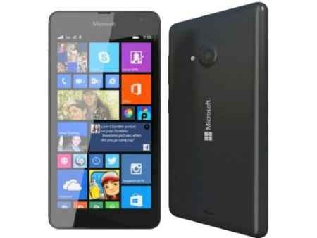 Купить Смартфон Microsoft Lumia 640 LTE Dual Sim черный