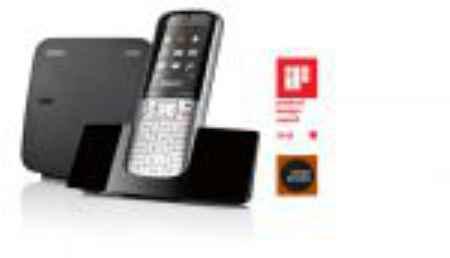 Купить Радиотелефон Gigaset SL400A RUS Metal (с АОН)