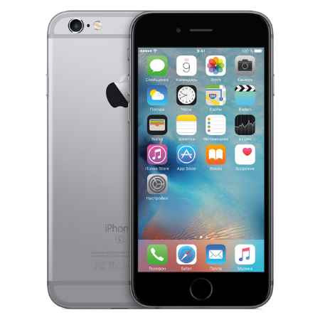 Купить Apple iPhone 6s 16GB Space Gray (MKQJ2RU/A)