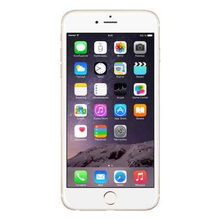 Купить Apple iPhone 6 Plus 64GB Gold (MGAK2RU/A)