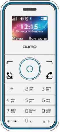 Купить Qumo Push Mini White Blue