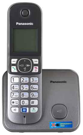 Купить Panasonic KX-TG6811 (серый металлик)