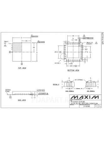 Купить Микросхема MAX9755E