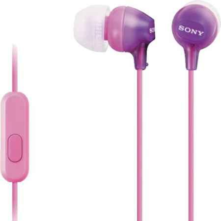 Купить Sony MDR-EX15AP Violet