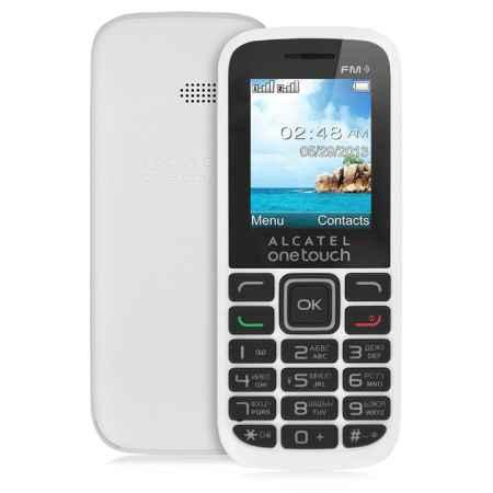 Купить Мобильный телефон Alcatel OT1040D (2SIM) Pure White