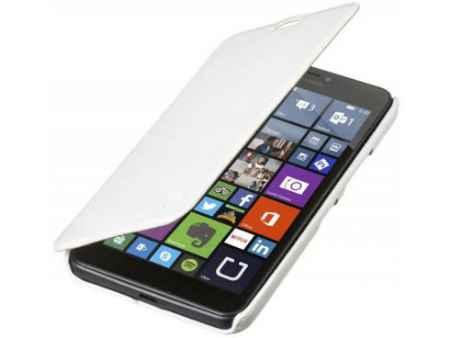 Купить Чехол-флип PULSAR SHELLCASE для MICROSOFT Lumia 640 XL (book style) (белый)