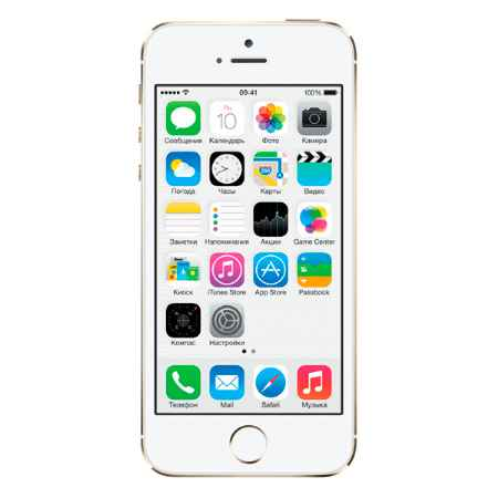Купить Apple iPhone 5S 16Gb Gold (FF354RU/A) восстановленный