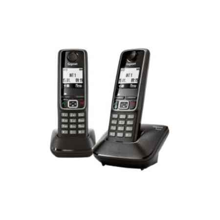 Купить Радиотелефон DECT Gigaset A420 DUO белый