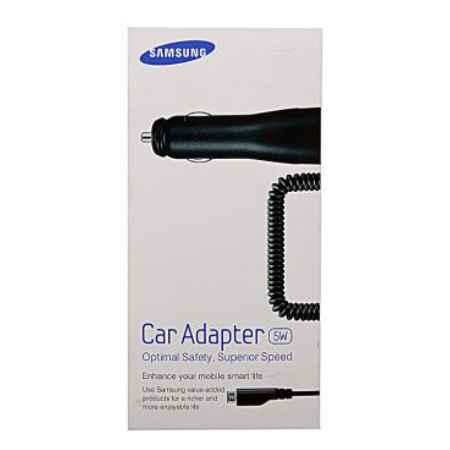 Купить Автомобильное зарядное устройство Samsung ECA-U16CBEGSTD с разъемом micro-USB и током 1 A