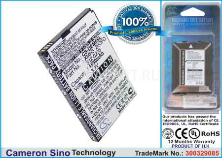 Купить Аккумулятор Dell Streak 5 1530mah CS-DEM5SL