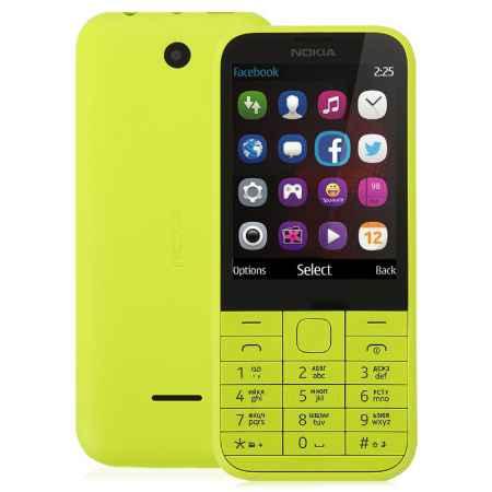 Купить Мобильный телефон NOKIA 225 RM-1012 BR_YELLOW, желтый