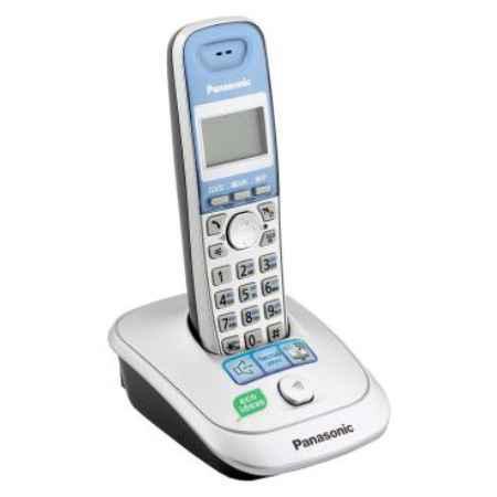 Купить Радиотелефон DECT Panasonic KX-TG2511RUS серебристый