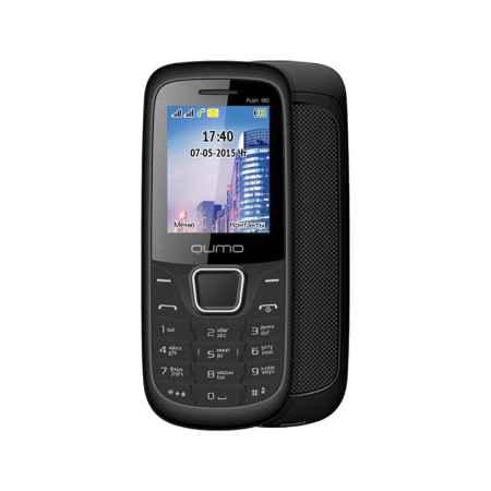 Купить Мобильный телефон Qumo Push 180 dual black, чёрный