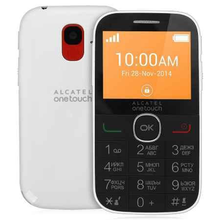 Купить Мобильный телефон Alcatel OT2004C Pure White