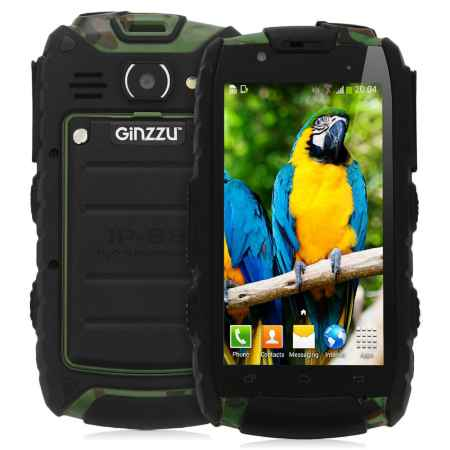 Купить Смартфон GiNZZU RS61 Dual Ultimate Green, зеленый