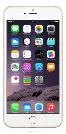 Купить Apple iPhone 6 Plus 128GB, Gold