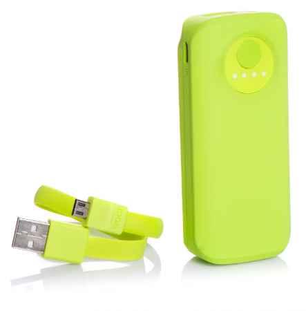 Купить Дополнительная батарея Ebai Mobile power for iPhone 5000mAh (Lime)