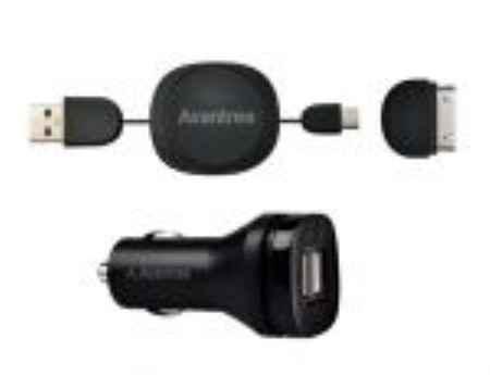 Купить Зарядное устройство автомобильное в комплекте с проводом Avantree CGST-09