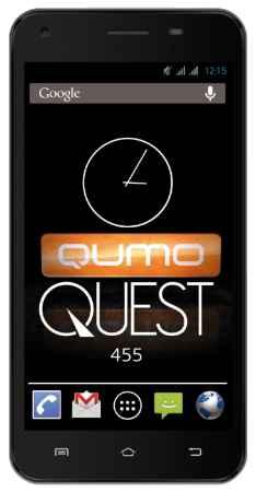 Купить Телефон Qumo QUEST 455 (Черный)