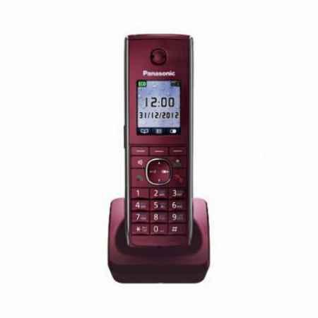 Купить Радиотелефон DECT Panasonic KX-TGA855RUR красный трубка к телефонам серии KX-TG85хx
