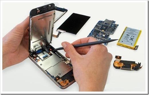 Разборка мобильных телефонов