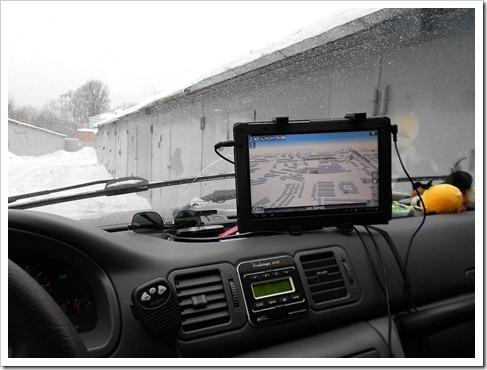 Использование планшета для управления функциями автомобиля