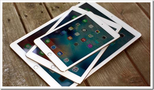 Популярные модели iPad