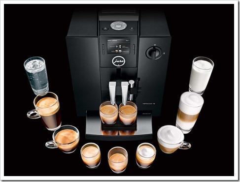 Различные типы кофемашин