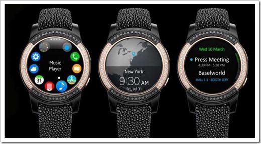 Сенсорные умные часы