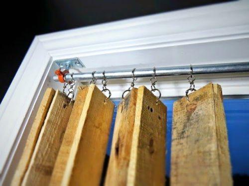 Как сделать жалюзи на окна своими руками