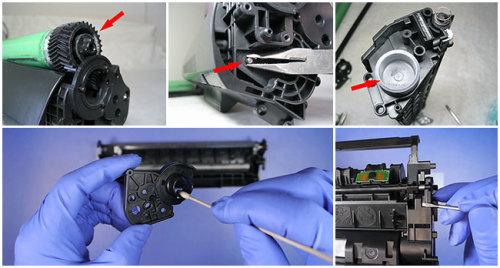 Как заправить картридж лазерного принтера