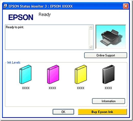 Использование ПО и смартфона для проверки уровня чернил в принтере