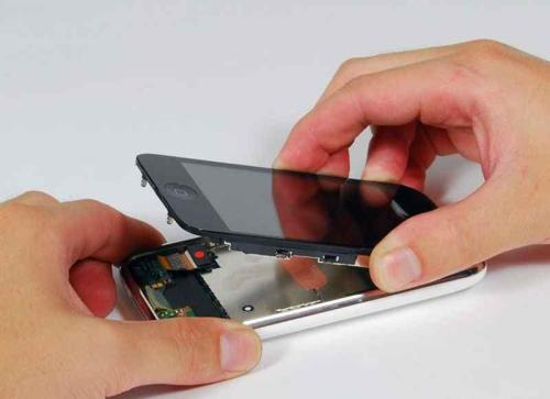 Как заменить тачскрин на айфон