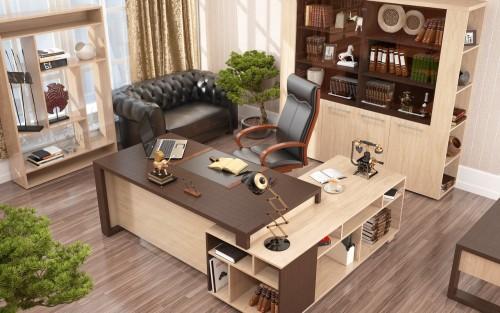 Как расположить мебель в кабинете руководителя