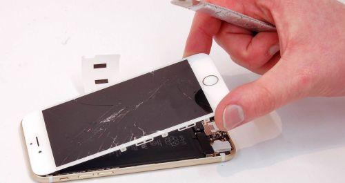 Как поменять защитное стекло на Iphone 6