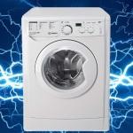 Стиральная машина бьет током: что делать