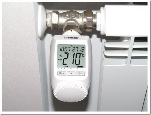 Преимущества электронной термоголовки