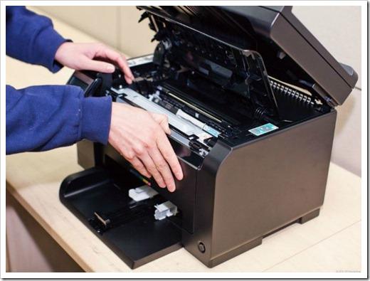 Принтер не забирает бумагу